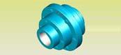 GCLD type motor shaft drum gear coupling JB/T8854.1