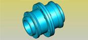 GIICL type drum gear coupling JB/T8854.2-99