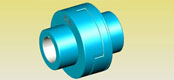 Elastic movable pin coupling