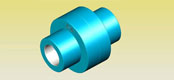 The core type elastic coupling GB/T10614-89