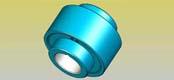 TGL nylon inner gear coupling JB/T5514-91