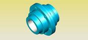 WG type drum gear coupling JB/ZQ4186-97