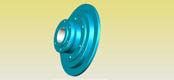 WGP type belt brake disk and drum gear coupling JB/T7001-93