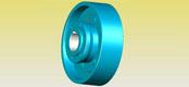 WGZ type belt wheel brake drum gear coupling JB/T7003-93